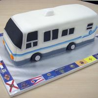 Motorhome I made this for a coworker who was retiring and traveling in her motorhome afterward