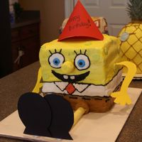 Spongebob Squarepants This was inspired by Cambo here at CC. This was for my son's 3rd birthday and had 3 different types of cakes layered within. He loved...