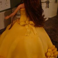 Belle Doll Cake second view