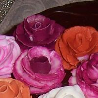 Another Close Up Pic another close up of my roses from first cake for Wilton Course 1