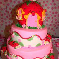 Strawberry Shortcake Celebration Strawberry shortcake theme my daughter chose. We looked at LOTS of pictures on cc and combined some ideas. So thank you to all who have...
