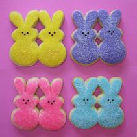Peeps Cookies I love these cookies! I wanted to do something fun for Easter so I was really excited when these turned out so cute. They are NFSC with...