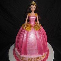 Pink Princess I made this for my daughters birthday. She talked about having a pink princess cake for forever. I stayed up all night making it and she...