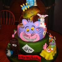 Alice In Wonderland This is a cake that I made for the 2010 KY State Fair. It is entered into the Professional Division: Birthday Cakes. It took lots and lots...