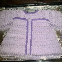 Baby Sweater Cake 1st attempt at baby sweater cake
