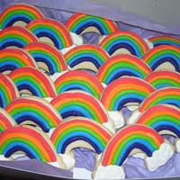 Rainbow Cookies   NFSC with royal icing