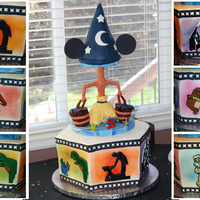 Fantasia Birthday Cake My son turned 5 and decided he wanted to have a Disney Fantasia Themed birthday party. He was adamant that all of the songs in Fantasia had...
