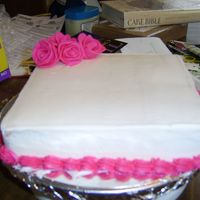 Another Pic Of My Practice Cake.