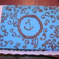 Bridal Shower Cake This is the cake that I did for my cousin's bridal shower. She is really god about letting me do whatever I want her only request was...