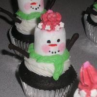 Snowman.jpg   My Cute little snownmen and women. The arms are melted chocolate chips piped out. These are a hoot to make !! Thanks CC