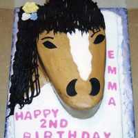 Horse Head I saw a cake like this on this site, but I don't recall who's it was...So who's ever cake I originally saw....Thank You for...