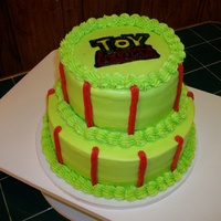 Toy Story Tier Cake
