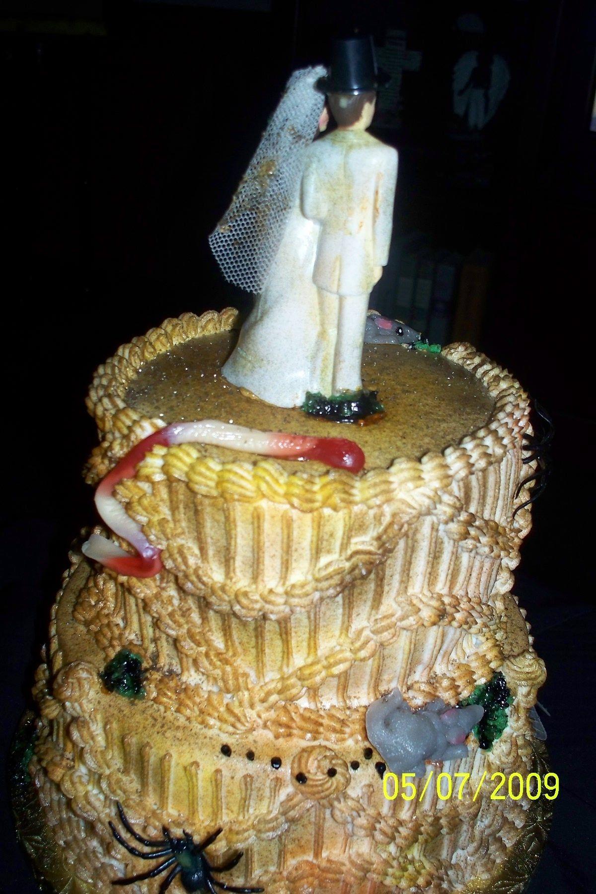 Miss Havisham\'s Rotten Wedding Cake from the novel \