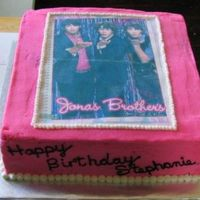 Jonas Brothers Birthday  I made this for my daughter's friend's 12th birthday. She and all of her friends are all crazy about the Jonas Brothers....