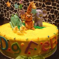 Baby Shower Cake This is a complete cake lift from bmac, not quite as polished as the original- hers was superb. I had to alter mine slightly, first time I...