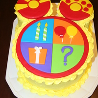 Toodles - Mickey Mouse Clubhouse I made a Toodles cake for my son's second birthday. :) Toodles is made out of fondant.