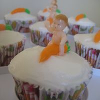 Naked Baby Carrot Jockeys My nod to the famous cake wreck! Carrot and coconut cake with pineapple cream cheese frosting.