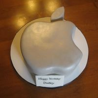 Mac Cake Made for a Mac enthusiast for his 30th birthday.