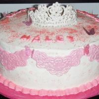 Haley's Birthday This was made for a coworker's daughter for her 4th birthday. They were have a princess themed party. The RI tiara drove me nuts. The...