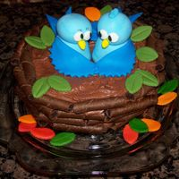 A New Nest I did this cake for my niece's housewarming party. I got the idea off of here. Thanks to everyone's great cakes!