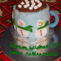 Cup Of Cocoa Another cake idea borrowed from CC. I had soooo many problems with this cake. I'm surprised I didn't dump it in the trash rather...