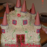 Princess Castle Cake my first castle cake! was very pleased with how it turned out. spent way too much time on it though. got the response i was hoping for and...