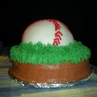 Patrick07.jpg  My friend wanted to make a birthday cake for her husband who is an usher at the baseball park. I baked the cakes and helped her stack and...