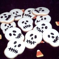 Halloween Cookies - Skeleton
