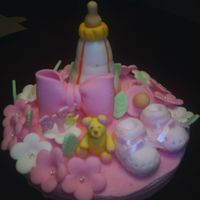 Everything Is Fondant Fondant figures for baby shower