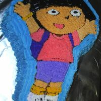 Dora The Explorer Birthday cake Dora the Explorer