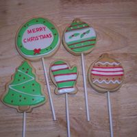 Christmas Cookies   NFSC with royal icing