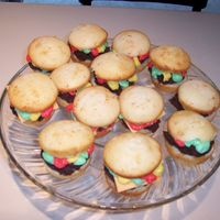 Burger Cupcakes Made these for a cookout we hosted. They were a big hit.