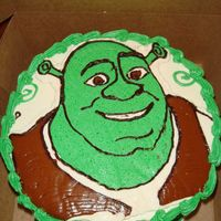 Ryan's 3Rd Bd 2007 My first FBCT. Was fun to do. She made this order 3 days b4 and I had no clue about Shrek and lucky for the internet. Chocolate amaretto...