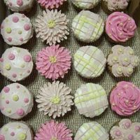 Spring Bridal Shower Cupcakes Spring bridal shower cupcakes, with a pink theme. Strawberry cupcakes with strawberry SMBC icing.