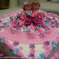 Couple Cake   for annivesary