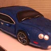 3D Car This is a strawberry cake enough to feed 30 people..