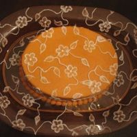 Orange My first attempt at brush embroidery. Made it orange so it matched the plate, then did the cake and plate and all. This was before I got...
