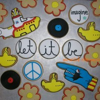 Beatles Assortment Many thanks to member di55 for posting a pic of some Beatles cookies on sticks she did because that helped inspire me for this order. (I...