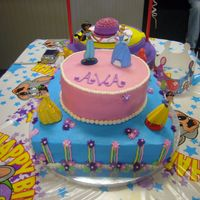 Princess Cake Princess birthday cake