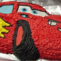 Lighten Mcqueen grandsons 1st. birthday cake