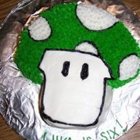 One Up This was for my cousin's birthday and he LOVES Mario Bros. All BC. TFL!
