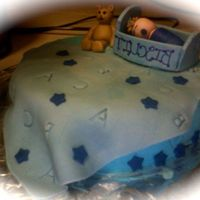 "Baby Biscuit The picture took backwords, but with no name yet, my friend calls him ""Biscuit"". BC and fondant, TFL!"