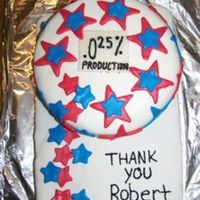 Thank You Stars A thank you cake for someone I hate, which made it hard, but nonetheless I did it!