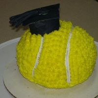 Tennis Graduation I made this cake for my cousin who was captain of the tennis team at Trinity University and graduated with honors! I had to travel a few...