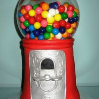 Gumball Machine Critique Subgroup Member: Replica of Jeanne's (jkalman) cake made with permission from the original artist. ;-D Stacked and carved...