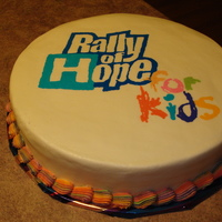 Rally Of Hope Charity Event I did this cake for a charity event, the Rally of Hope. My office enters the event each year, so I took the cake to work for inspiration....
