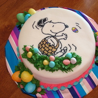 Snoopy FBCT Easter cake.