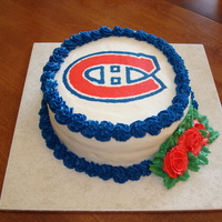 Montreal Canadians FBCT, Chocolate cake. Birthday cake for my niece.