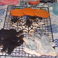 Halloween Cookies sugar cookies and royal icing