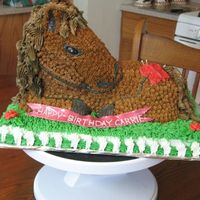 3D Horse Cake German chocolate cake with sugarshack's BC.Even though I'm pretty pleased the way it turned out(after soooo much help from CC) I...